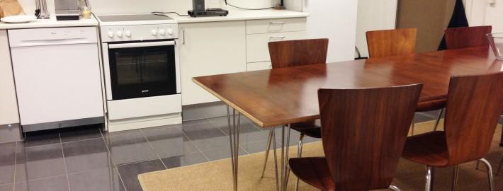 Køkkenet i kontorfælleskabet Courage & co på Gothersgade 99